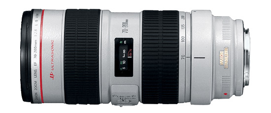Canon EF 70-200mm f/2,8 L IS USM