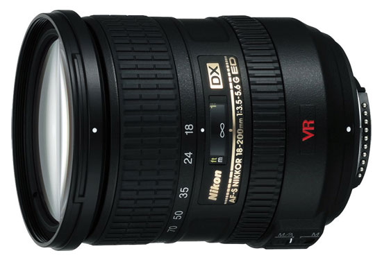 Nikon AF-S DX 18-200mm f/3,5-5,6 G IF-ED VR