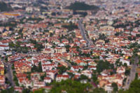 Picture taken with Tilt Shift Lenses
